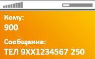 Мобильный банк через смс на номер 900